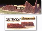Tamiya 32508 1/48 MMV Accessory Set: Sand Bag, Brick Wall & Barricade